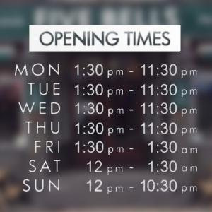 opening times img